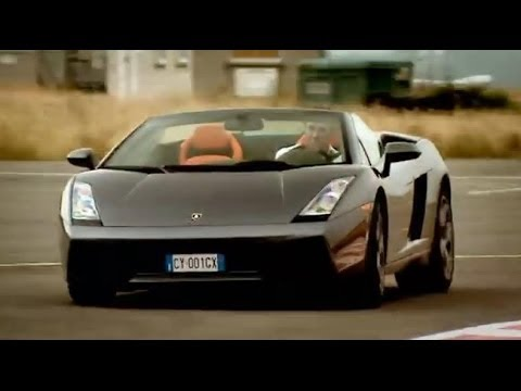 Lamborghini Gallardo Spyder supercar review - Top Gear - BBC