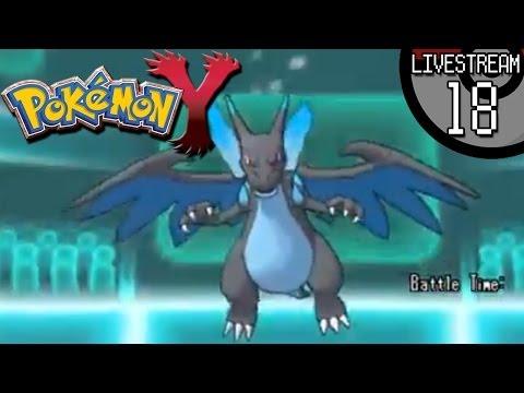 Pokemon X And Y - Livestream #18:  A Mega-comeback Stream!  Mega-evolutions Allowed! video