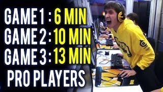 Top 3 Fastest Games Ever Dota 2