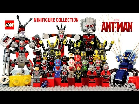 Every LEGO Ant-Man Giant-Man Hank Pym & Yellowjacket Minifigure Made Official vs Knockoffs