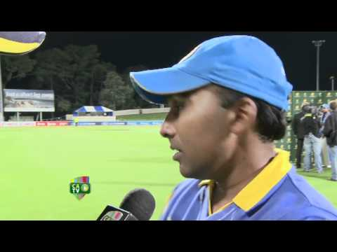 Feb 28th: Mahela Jayawardene post match