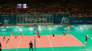 Japan vs USA - Women's Volleyball - Beijing 2008 Summer Olympic Games