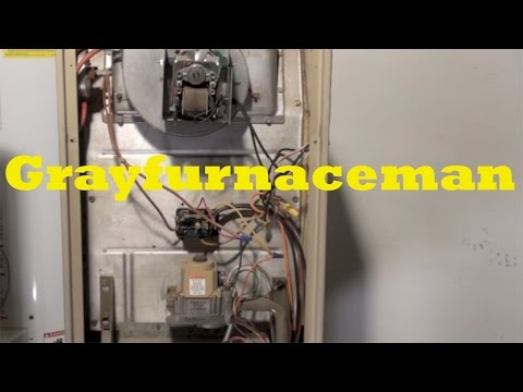 How to fix a gas furnace furnace blower does not turn off for Lennox furnace blower motor not working