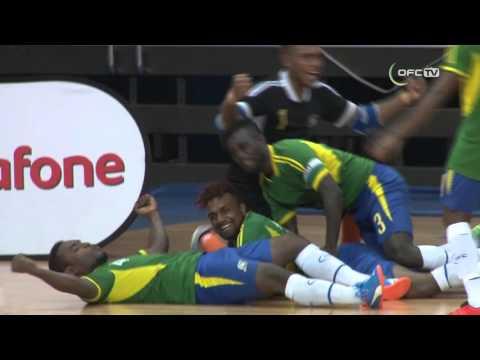 2016 OFC FUTSAL CHAMPIONSHIP   SOLOMON ISLANDS vs NEW ZEALAND