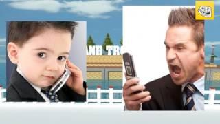 Bé Lũng gọi điện thoại chọc Chú Minh hàng xóm cực hài hước - Prank call
