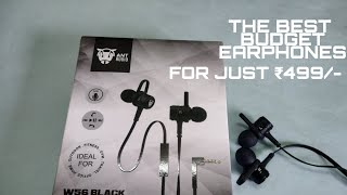 THE BEST BUDGET EARPHONES | JUST ₹499/- | FROM TATA CLIQ | UNBOXING AND QUICK REVIEW