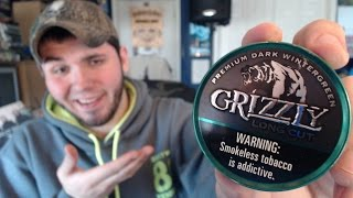 Grizzly Dark Wintergreen Review!
