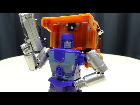 Cubex HUFF (Masterpiece Huffer): EmGo's Transformers Reviews N' Stuff