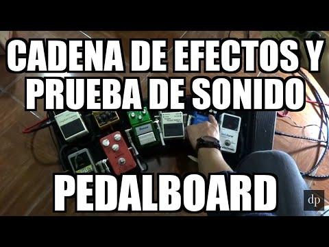 Cadena de efectos y prueba de sonido, orden de pedales tutorial de guitarra (Jam) - Dave Prado
