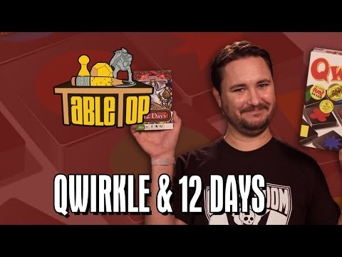 Qwirkle and 12 Days: Kelly Hu, Meredith Salenger, and Nolan Kopp join Wil on TableTop SE2E16