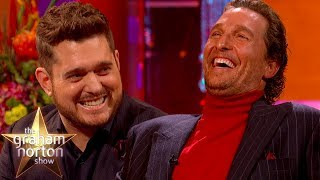 Matthew McConaughey's Voice Puts Michael Bublé To Sleep | The Graham Norton Show