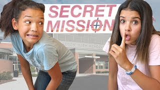 WHICH Teen CAN accomplish SECRET MISSION?! SNEAKING into High School & NOT GET NOTICED!