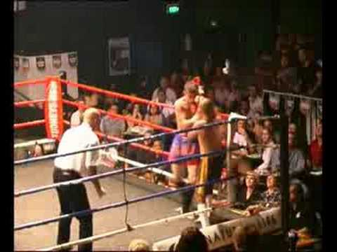 My first kickboxing fight Thurday July 29 2004 Image 1
