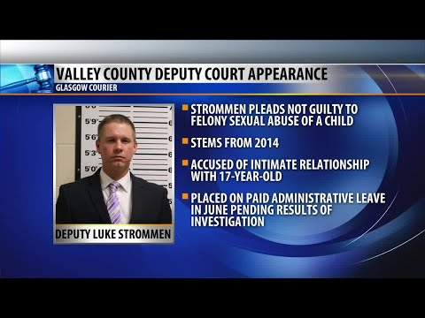Sheriff's deputy pleads not guilty to a charge of felony sexual abuse thumbnail