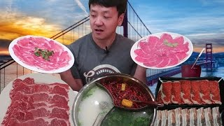All You Can Eat HOTPOT Buffet Tour of San Francisco!