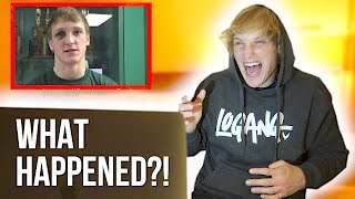 REACTING TO MYSELF BEFORE I WAS FAMOUS!