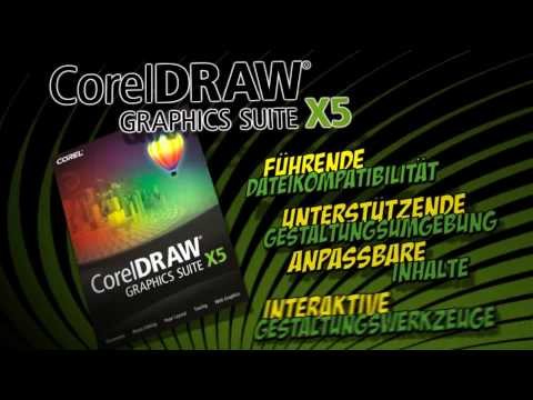 CorelDRAW® Graphics Suite X5 - Produktvorstellung