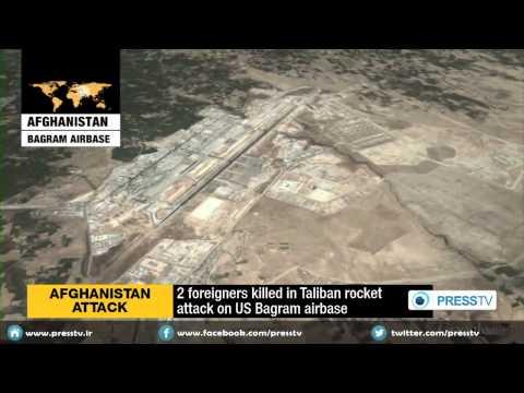 Two People Killed In Taliban Rocket Attack On U.S. Bagram Airbase In Afghanistan