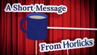 Horlicks Promo Voice - Pathe News Style