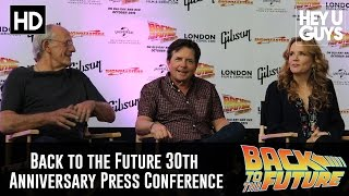 Back to the Future 30th Anniversary Panel - Michael J. Fox, Lea Thompson & Christopher Lloyd