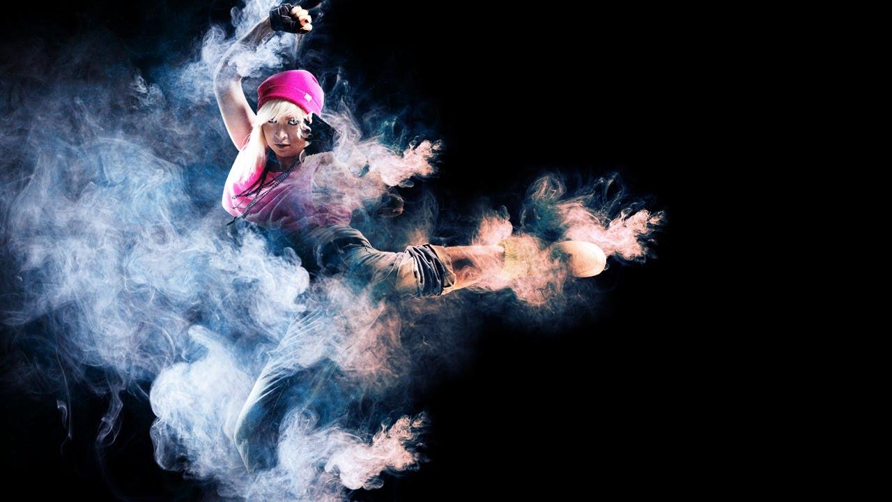 Как сделать в фотошопе фото из дыма