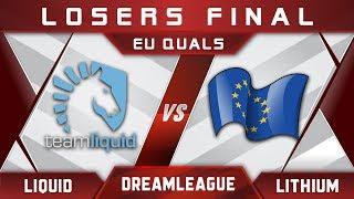 Liquid vs Lithium LB Final DreamLeague 10 Minor EU Highlights Dota 2