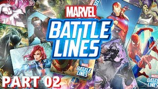 Marvel Battle Lines - Nexon - Gameplay Part 2 - iOS / Android