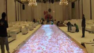 Interactive Floor Projection - Kuwait