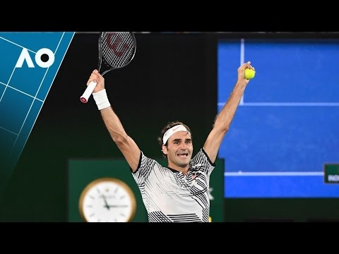 Match point cliffhanger from Federer | Australian Open 2017