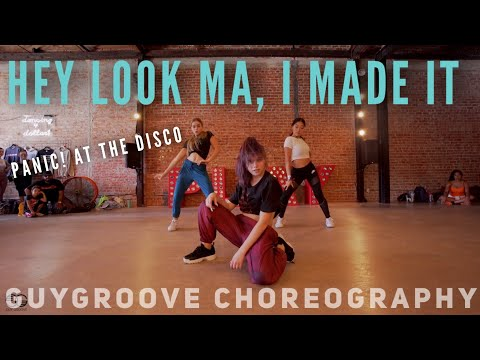 """Hey Look Ma, I Made It""   @panicatthedisco   @guygroove Choreography"