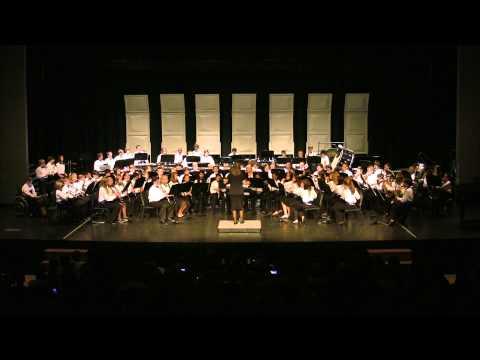 Northwestern Middle School 7th Grade Band: The Olympic Spirit - John Williams