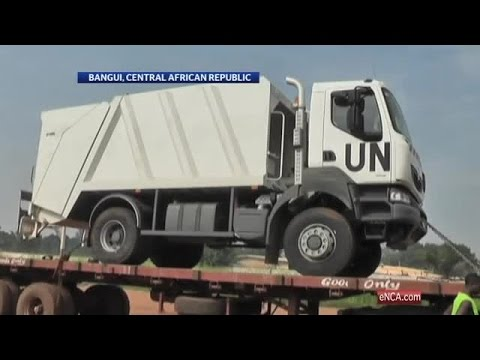 UN troops arrive in CAR