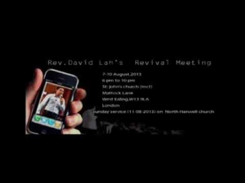 Rev David Lah (11-08-2013) audio verison