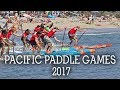 Pacific Paddle Games 2017 great SUP Racing