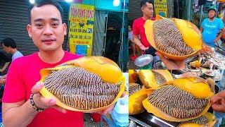 Xuất hiện Ốc Giác Vàng khổng lồ 4kg giá 2 triệu trên vỉa hè 54 Tân Sơn Nhì