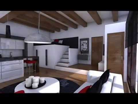 Apartamento de 30 metros cuadrados youtube for Decoracion casas 40 metros
