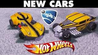 Rocket League   New Hot Wheels Cars Gameplay (Twin Mill III & Bone Shaker)