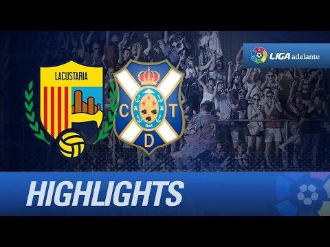 UE Llagostera 2-0 Tenerife
