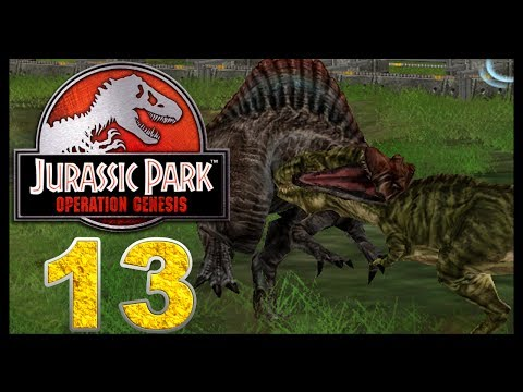 Jurassic Park: Operation Genesis - Episode 13 - Dinosaur Battles