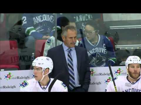 Vancouver Canucks VS Carolina Hurricanes 15-01-2016  FULL