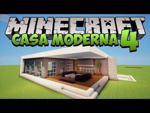 Minecraft: Construindo uma Casa Moderna 4