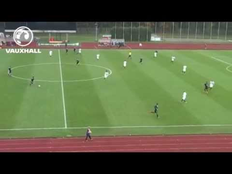 Scotland youngster Robbie Murihead scores a 40-yard wonder goal