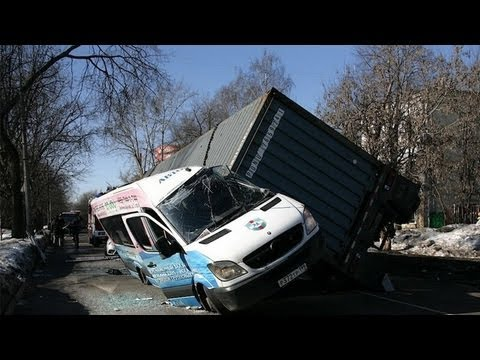Horrible Car Accidents Compilation February 2013 Russia (Part 17)