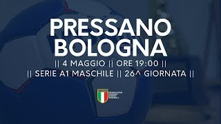 Serie A1M [26^]: Pressano - Bologna 30-29