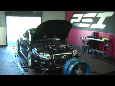 Futrell Autowerks: APR Supercharged RS4 Before/After Dyno Testing