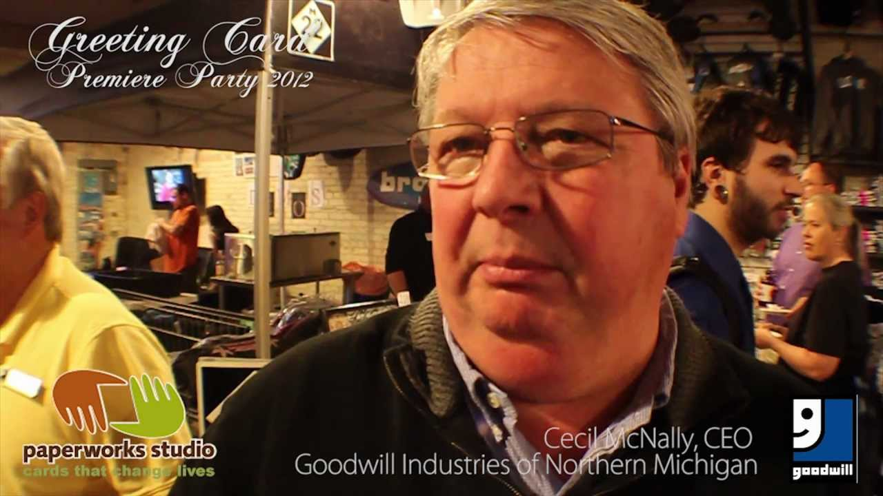 Cecil Mcnally Ceo Goodwill Industries Of Northern Michigan
