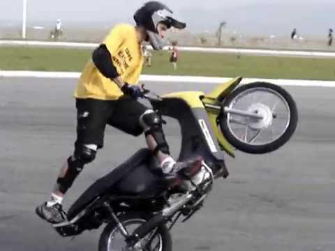 RL Canguru de Biz 100cc - Wheeling - piloto Bruno