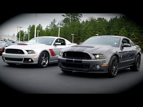Shelby GT500 vs Roush Stage 3 Review. Comparison