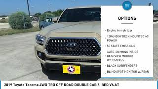 2019 Toyota Tacoma 4WD San Angelo Texas E19792