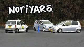 It's getting crazier! Kei-car PVC drifting at Tsukuba